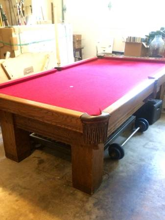 Pool Tables For Sale Little RockSOLO Qualified Pool Table Movers - Brunswick sherwood pool table