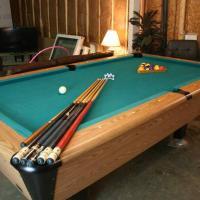 Harvard Pool Table