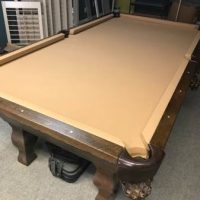 Antique Pool Table (SOLD)