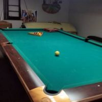 Brunswick Gold Crown 3 Pool Table